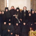 С сестрами обители. 2009 г.
